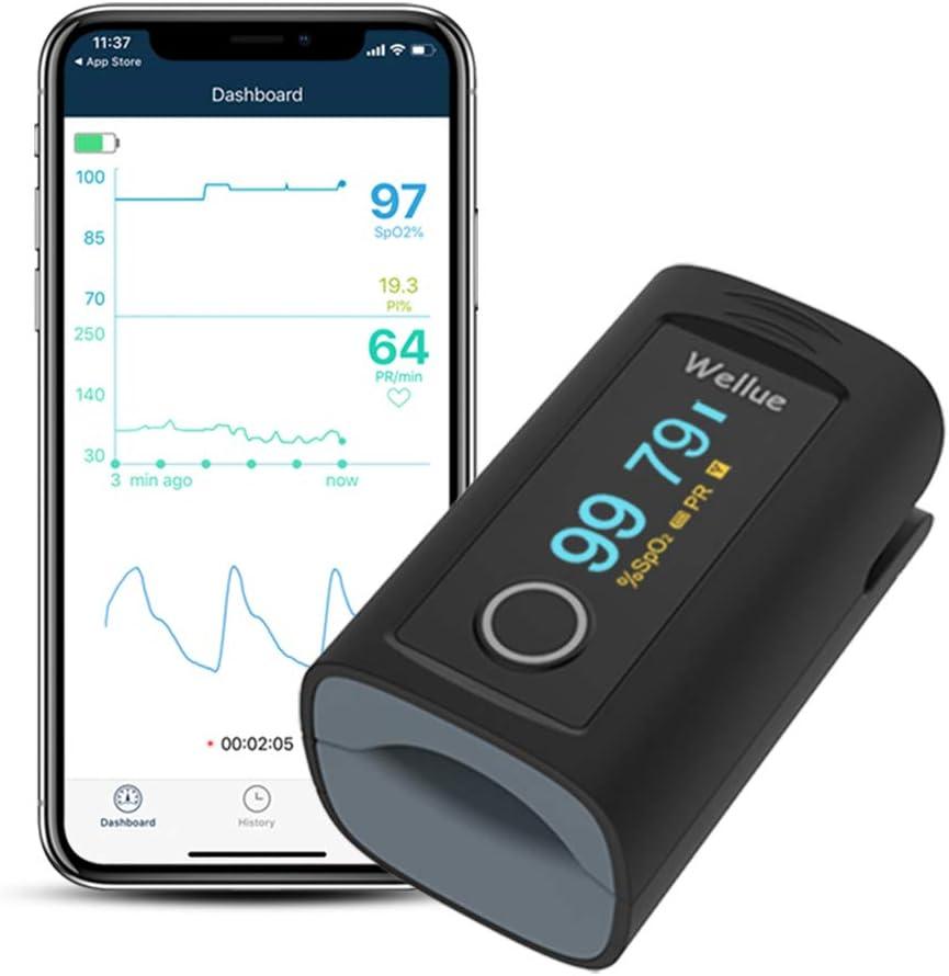 Wellue Bluetooth Smart Oximeter Fingertip Monitor $21.59 Coupon