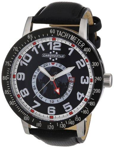 Chronostar Watches R3751199001 - Orologio da polso uomo, nylon, colore: nero