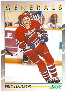 Eric Lindros 1991 Score Young Super Stars #30 (Oshawa Generals) Rookie Card