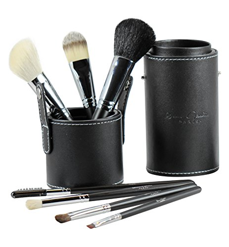 Best Professional Makeup Brushes Set for Eye and Face, Includes FREE Leather Brush Holder, Recommended by Michelle Money, Great for Travel, High Quali
