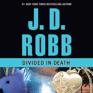 Divided in Death audiobook cover art