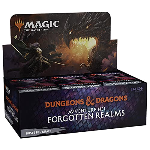 Magic The Gathering Adventure in Forgotten Realms – Draft Booster Display de 36 sobres (Italia)
