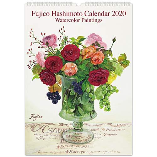 フロンティア 橋本不二子 2020年 カレンダー 壁掛け ローズ LL CAL-09