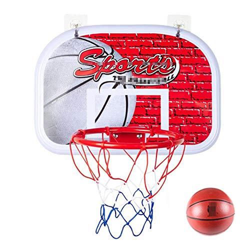 MHCYKJ Canasta Baloncesto Interior Casa Tablero De Aro Montado En La Pared Juego Mini Infantil Portátiles Juguetes Bebe Juegos (Size : B)