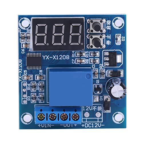 Placa de protección de batería de memoria, CC 12 V, 10 A, interruptor de control de bajo voltaje, enciende y apaga automáticamente el controlador para la fuente de alimentación eléctrica.
