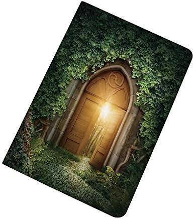 Fantasy House Decor iPad Air 2 iPad Air Case Sun Through Mysterious Half Opened Wooden Entrance product image