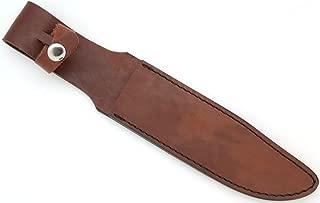 Snake Eye Tactical Full Size KA-BAR Style Genuine Leather Sheath
