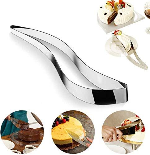 ICEBLUEOR - Cortador de pasteles de acero inoxidable, cortador de pasteles y pasteles