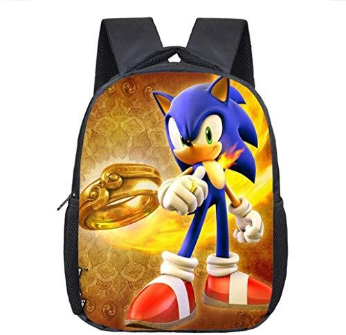 XWXBB Cartoon Mario/Sonic rugzak kinderen schooltassen baby kleine kinderen rugzak kinderdagverblijf tas jongens meisjes boektas