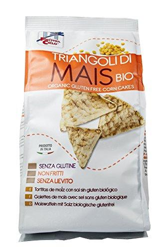 La Finestra Sul Cielo Triangoli di Mais Bio - 12 Confezioni da 100 g