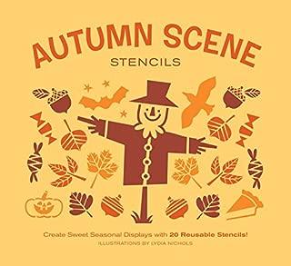Autumn Scene Stencils: Create Sweet Seasonal Displays with 20 Reusable Stencils!