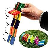 MAICOLA Juguete Colorido de Madera Tarjeta Flap Juego Juguetes de los niños Mano-Ojo Educación Juguetes Juguete de Regalo de Coordinación