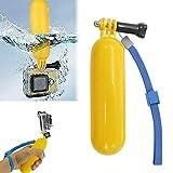 Brain Freezer JoJo Handheld Stick Float Floating Grip, Monopod Compatible with Sjcam Gopro, Xiaomi Yi Action Camera (Yellow)