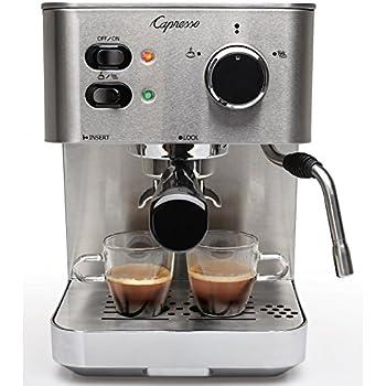 Capresso EC PRO Espresso and Cappuccino Machine, New, Silver