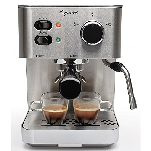 Capresso EC PRO Espresso and Cappuccino Machine, New, Silver
