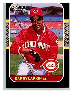 Baseball MLB 1987 Donruss #492 Barry Larkin RC Reds