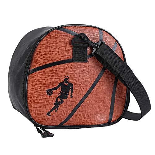 SODIAL Fitness Calcio Basket Pallavolo Esercizio Fitness Borsa Un Tracolla Pallone da Calcio Borse Outdoor Bag Attrezzature per L'Allenamento Accessori