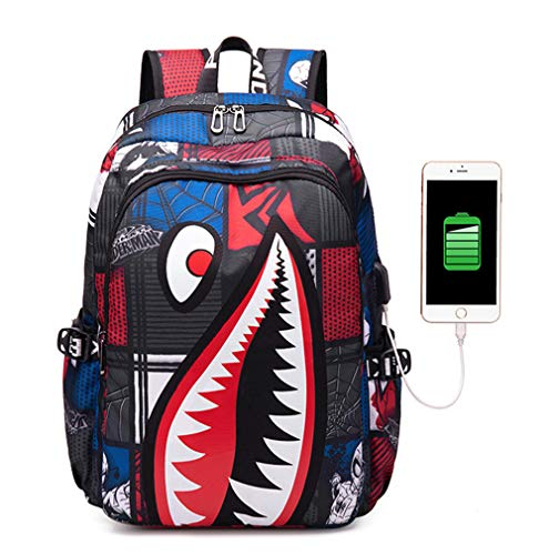 Travel Laptop Backpack,Water Resistant Backpack,15.6 Inch Large Lightweight College High School Bag With Usb Charging Port, For Camping Mountaineering Walking Cycling Climbing,2