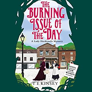 The Burning Issue of the Day audiobook cover art