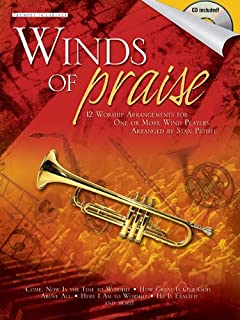 Winds of Praise: Trumpet/ Clarinet: 12 Worship Arrangements for One or More Wind Players