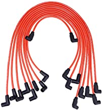 10.5 MM High Performance Spark Plug Wire Set for HEI SBC BBC 350 383 454 Electronic (9Pcs)
