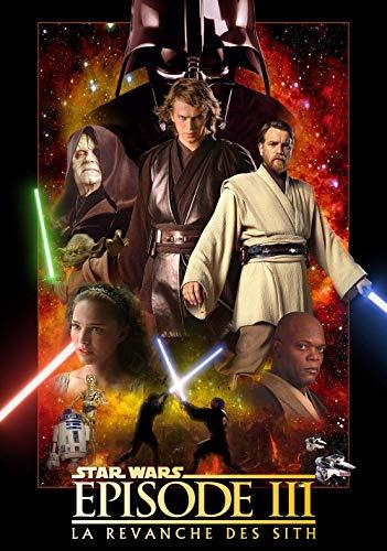 JUHAO 1000 Puzzleteile, Zahlen Puzzles, Puzzles Für Erwachsene Und Kinder-Star Wars: Episode Iii-Filmplakate-Indoor-Unterhaltungsspiele, 3D-Lernspielzeug