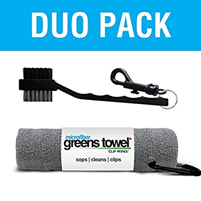 Greens Towel Duo Pack (Sterling Silver)