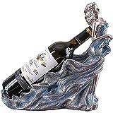 WHL Moderno Minimalista carácter Estante de Vino Resina Creativa...