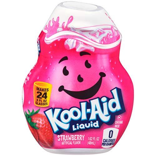 Kool-Aid Strawberry Flavored Liquid Drink Mix (1.62 oz Bottle)