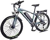 Bicicleta Eléctrica Adultos de 26 pulgadas Rueda Bicicleta eléctrica Aleación de aluminio 36V 13Ah Batería de litio Batería de litio Bicicleta de ciclismo, batería de litio Playa Cruiser para adultos