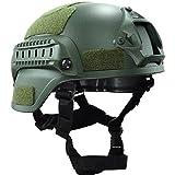 OneTigris Mich 2000 Aktion Version Taktische Helm ABS Helm mit NVG Halterung und seitliche Schienen...