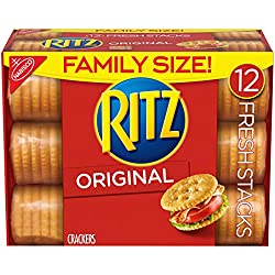 Ritz Original Crackers - Fresh Stacks - Family Size, 17.8 Ounce