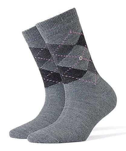 BURLINGTON Damen Socken Whitby - Warm Und Weich, 1 Paar, Grau (Grau 3397), Größe: 36-41