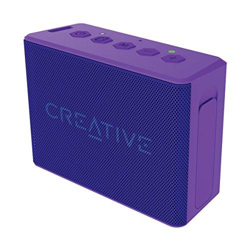 Creative Labs Muvo 2c - Altavoz portátil con Bluetooth, Color Morado