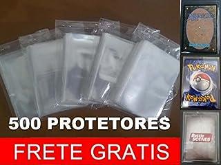 500 Sleeves Shields Protetoeres Pokemon Magic Battle Scenes FRETE GRÁTIS