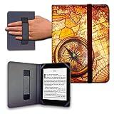 Funda para Libro electrónico eReader eBook de 6 Pulgadas - Woxter, Tagus, BQ, Energy, SPC, Sony, Inves, Papyre, Wolder, Nolim - 6' Universal - elástico (15)