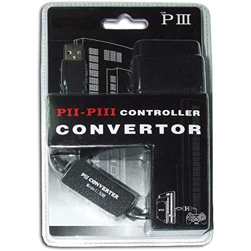 SATYCON Adaptador USB de 1 Mando PS2 A PS3 Y PC