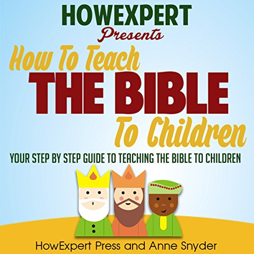 How to Teach the Bible to Children cover art