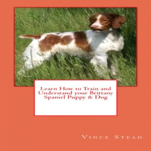 Learn How to Train and Understand Your Brittany Spaniel Puppy & Dog audiobook cover art