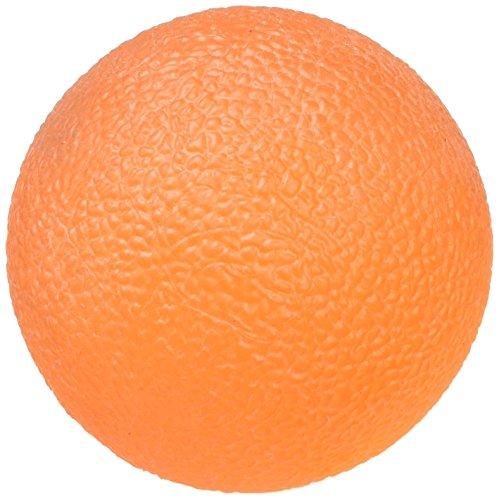 Dynamix Balle en Gel pour Exercice de la Main, Dextérité Doigts et Avant-Bras, Couleur Orange, Extra Douceur, Molle, Entraîne à la Résistance, Renforcement et Réhabilitation, Résistance ferme