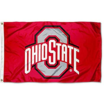 College Flags & Banners Co Ohio State Flag OSU Buckeye Flag