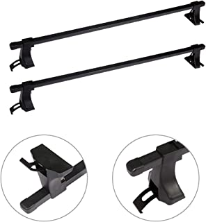 AUTOMUTO Adjustable 48†Roof Rack Aluminum Top Rail Carries Luggage Carrier Fit for 1991-1992 1994 Acura Legend,2010-2011 Acura RDX,2000-2001 2004 Acura RL Baggage Rail Crossbars