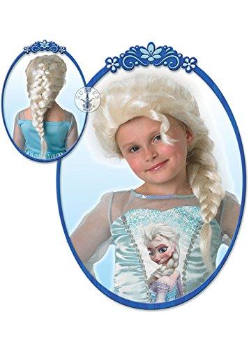 Struts Fancy Dress Frozen Enfants congelés Snow Queen Elsa Wig