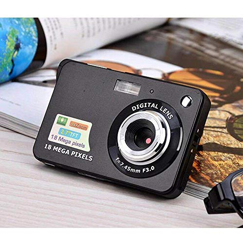 PZNSPY kindercamera ultradunne digitale camera voor kinderen digitale camera voor verjaardag beste cadeau Blanco Y Gris