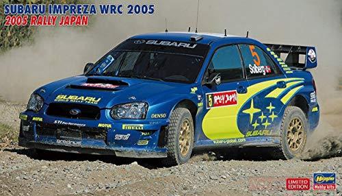 Hasegawa HA20353 Subaru Impreza WRC 2005 Rally Japan Kit 1:24 MODELLINO Model Compatible con