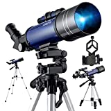 Best Telescopes - Telescope for Astronomy, Pro 400/70 FMC Glass Optical Review