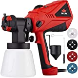 NoCry 1200ml/min Electric Paint Sprayer - 600W Motor, 100 DIN/s Max Viscosity, Adjustable