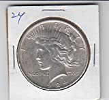 1924 Peace Silver Dollar Dollar About Uncirculated