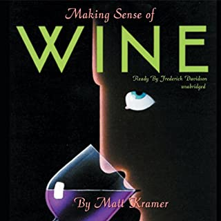 Making Sense of Wine audiobook cover art