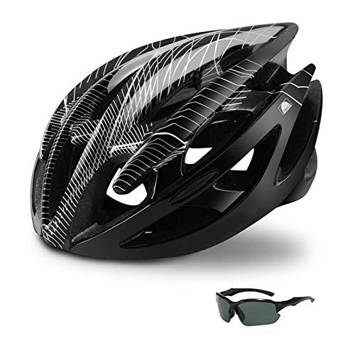 Fahrradhelm Yuan Ou Professioneller Renn-Mountainbike-Helm mit Brille Ultraleichter...
